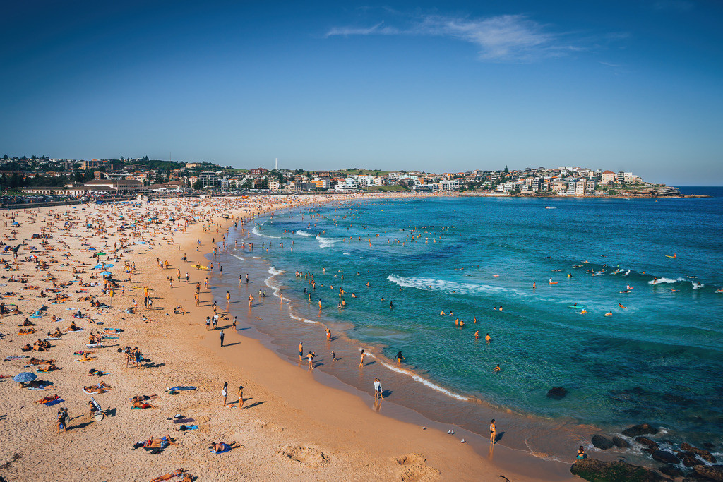 Bondi Beach in Australien | Bondi Beach in Australien
