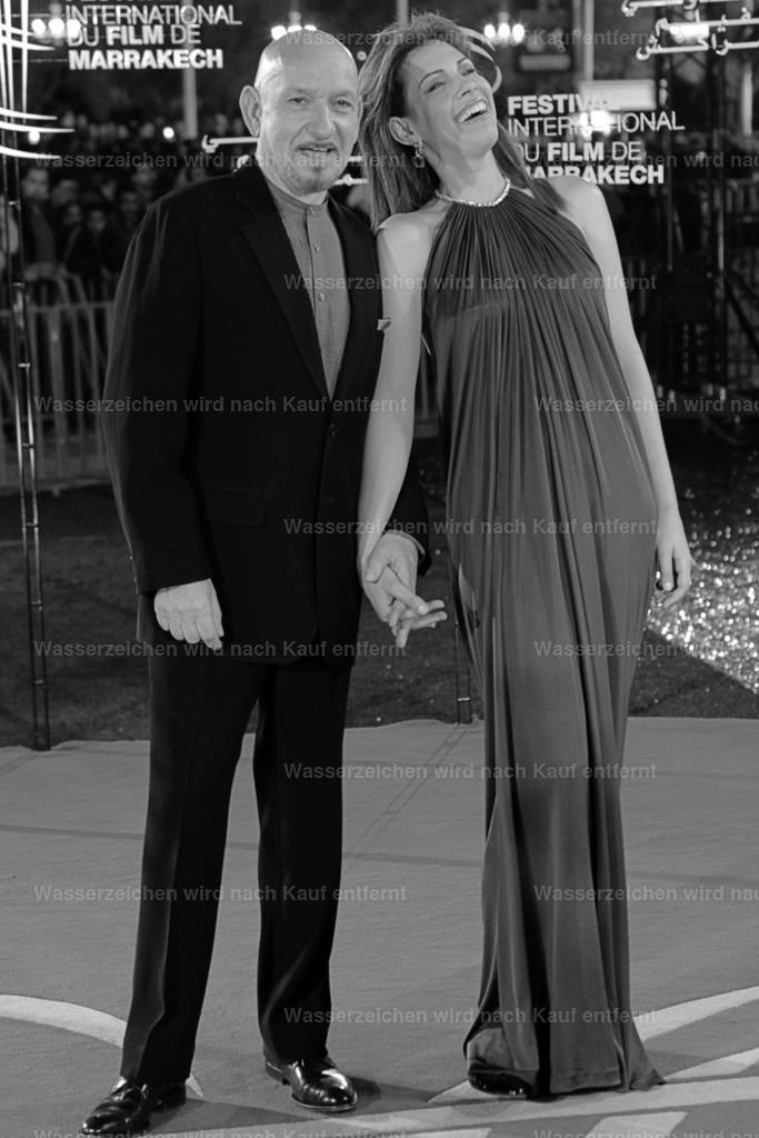 Sir Ben Kingsley & Daniela Lavender   Sir Ben Kingsley & Daniela Lavender