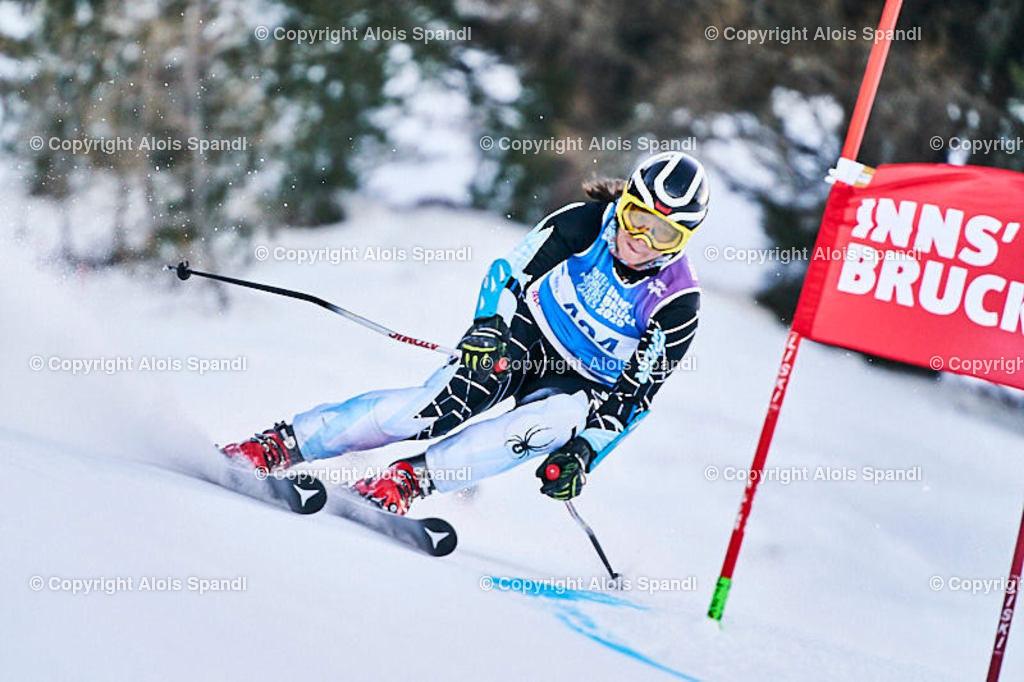 ALS5705_WWMG_GS-II_C | (C) FotoLois.com, Alois Spandl, WinterWorldMastersGames 2020 Innsbruck, Giant Slalom-II Gruppe C Damen, Patscherkofel Olympiaabfahrt, Mi 15. Jänner 2020.