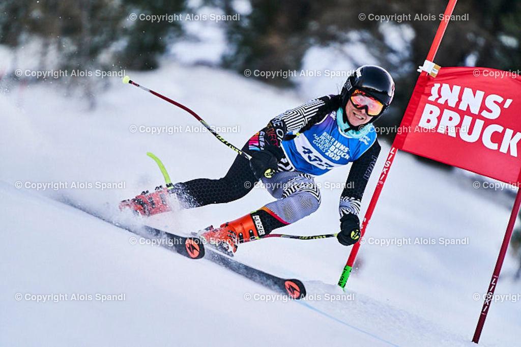 ALS5864_WWMG_GS-II_C | (C) FotoLois.com, Alois Spandl, WinterWorldMastersGames 2020 Innsbruck, Giant Slalom-II Gruppe C Damen, Patscherkofel Olympiaabfahrt, Mi 15. Jänner 2020.