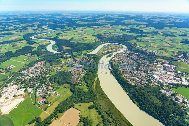 luftbild-wasserburg am inn-bruno-kapeller-05 | Luftaufnahme von Wasserburg am Inn im Sommer 2019