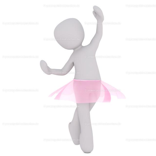 ballet dancer  | Quelle: https://3dman.eu   Jetzt 250 Bilder kostenlos sichern