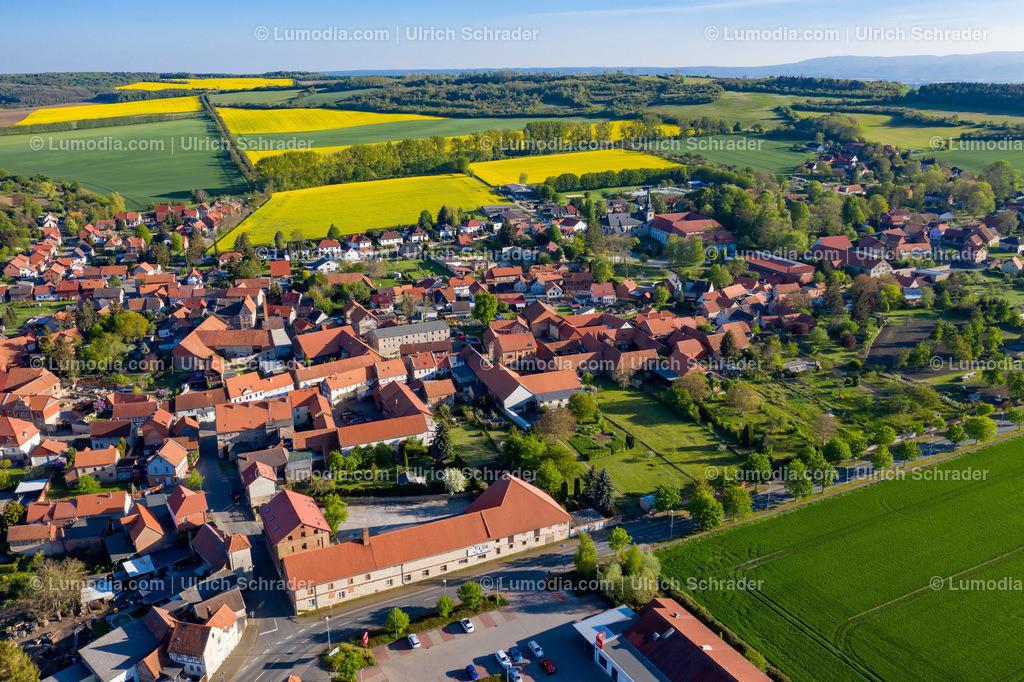 10049-51021 - Blick auf Badersleben _ Gemeinde Huy