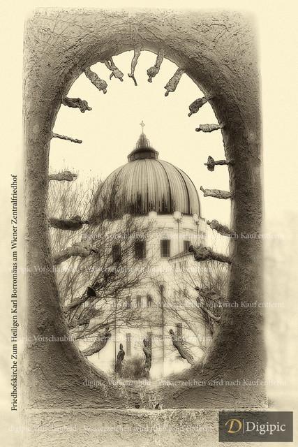 Zentralfriedhof Kirche 1 -Vorschaubild | Zentralfriedhof