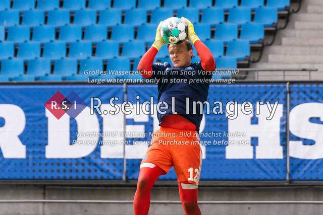 Fußball, Herren, Testspiel, Hamburger SV - FC Hansa Rostock, Volksparkstadion, 09.08.2020 | Tom Mickel (#12 HSV Torwart)