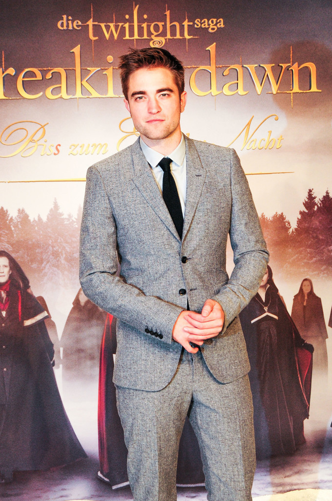 Premiere Breaking Dawn   Robert Pattinson