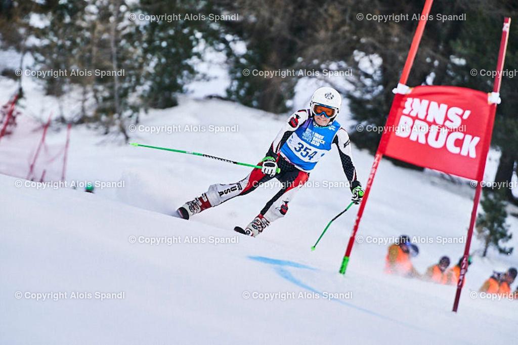 ALS5433_WWMG_GS-II_C | (C) FotoLois.com, Alois Spandl, WinterWorldMastersGames 2020 Innsbruck, Giant Slalom-II Gruppe C Damen, Patscherkofel Olympiaabfahrt, Mi 15. Jänner 2020.