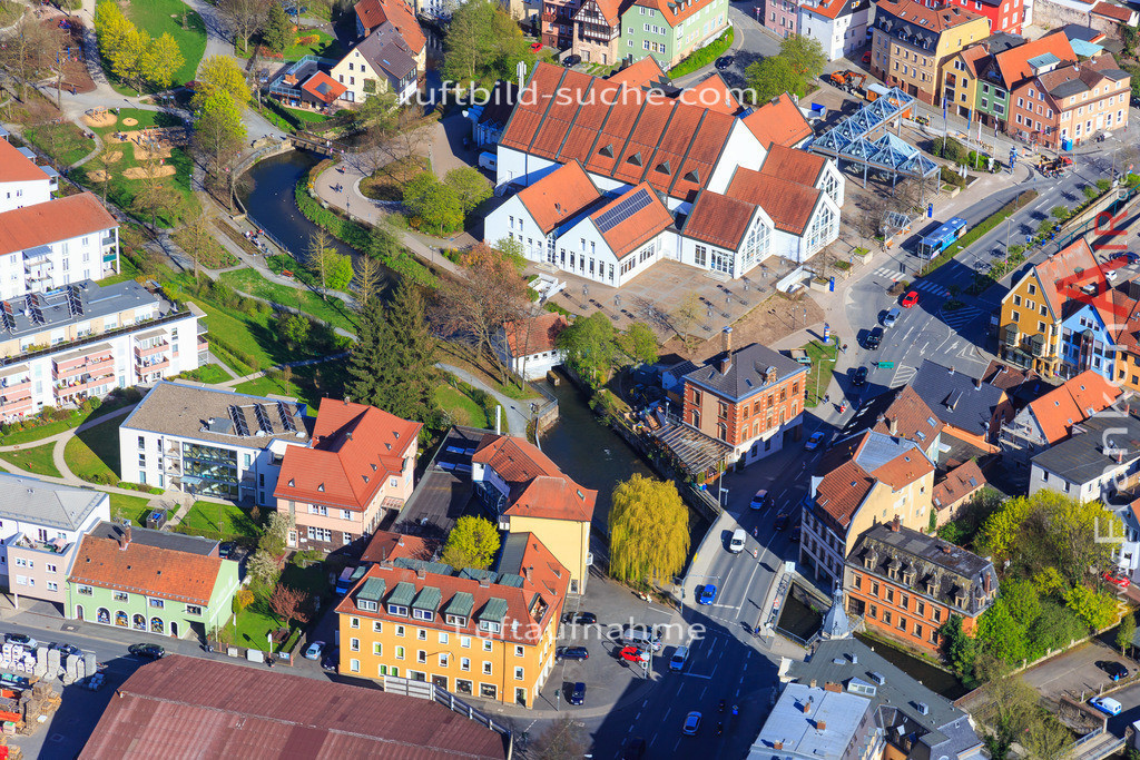 kulmbach-2016-3204 | Luftbild von  Kulmbach - Luftaufnahme wurde 2016 von https://frankenair.de mittels Flugzeug (keine Drohne) erstellt - die Geschenkidee