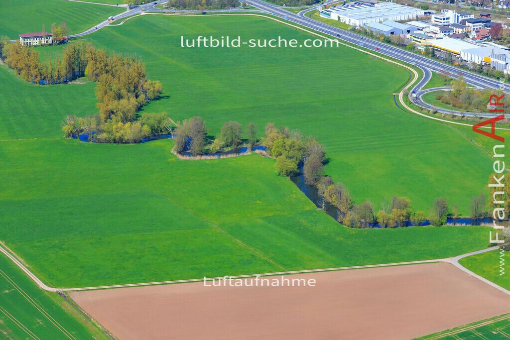 niederfuellbach-2016-3315 | Luftbild von  Niederfuellbach - Luftaufnahme wurde 2016 von https://frankenair.de mittels Flugzeug (keine Drohne) erstellt - die Geschenkidee