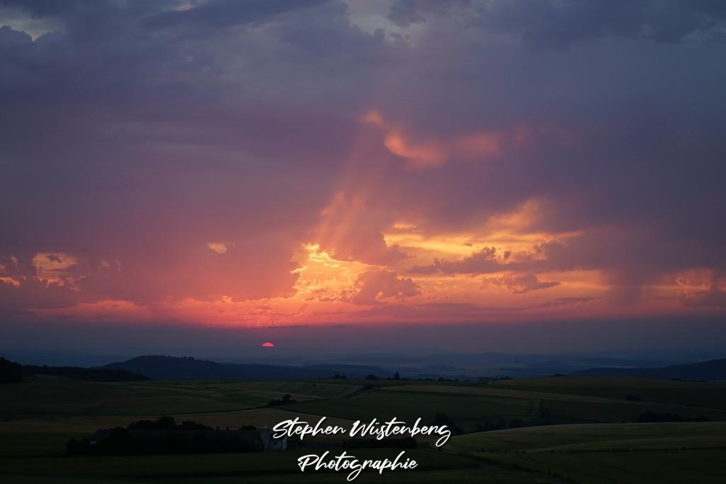 Sunset Karlshöhe | Sonnenuntergang an der Karlshöhe