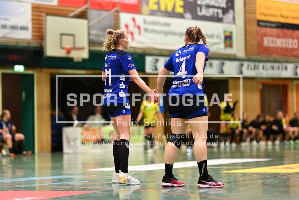 DHB-Pokal Achtelfinale Frauen I Buxtehuder SV - Borussia Dortmund  I 04.11.2020_00091 | ; DHB-Pokal Achtelfinale Frauen I Buxtehuder SV - Borussia Dortmund  am 04.11.2020 in Buxtehude  (Hoelle Nord - Kurt-Schuhmacher Strasse), Deutschland