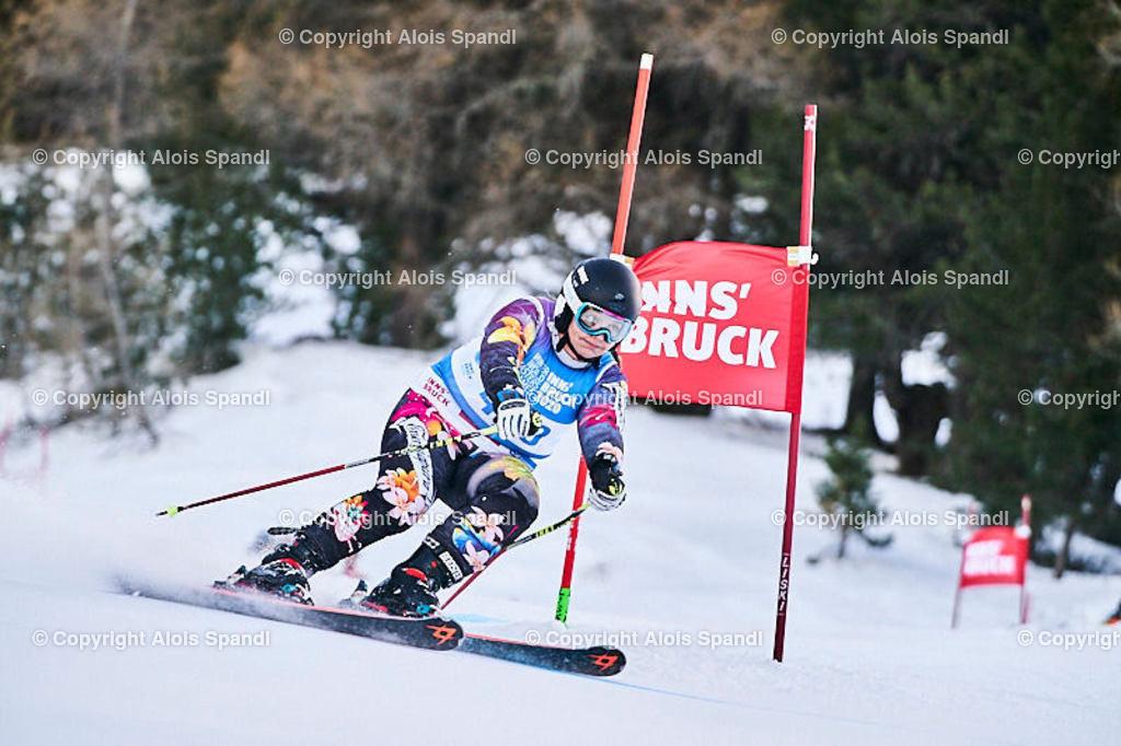 ALS5786_WWMG_GS-II_C | (C) FotoLois.com, Alois Spandl, WinterWorldMastersGames 2020 Innsbruck, Giant Slalom-II Gruppe C Damen, Patscherkofel Olympiaabfahrt, Mi 15. Jänner 2020.