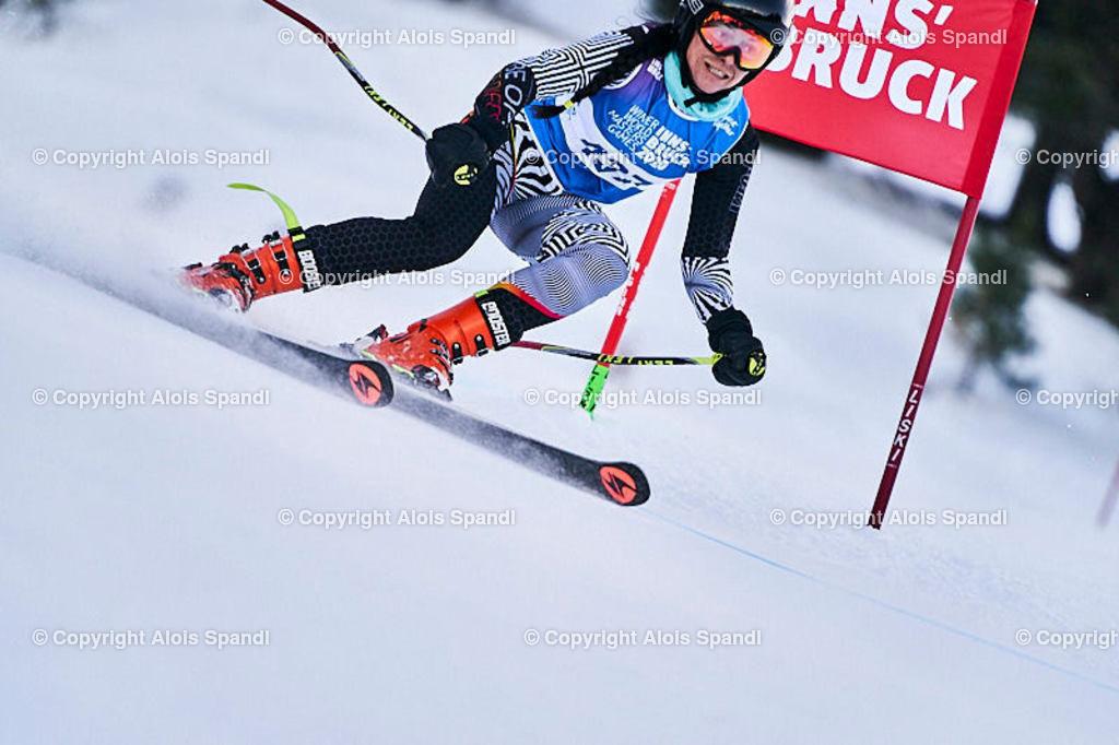 ALS5865_WWMG_GS-II_C | (C) FotoLois.com, Alois Spandl, WinterWorldMastersGames 2020 Innsbruck, Giant Slalom-II Gruppe C Damen, Patscherkofel Olympiaabfahrt, Mi 15. Jänner 2020.