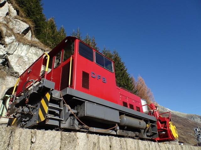 DFB HGm Nr.51 | Die Mitglieder der Dampfbahn Furka-Bergstrecke bereiten die neue Saison vor.