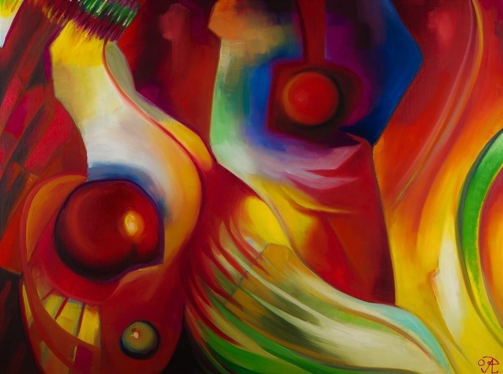 Ruhe und Bewegung | Originalformat: 60x80cm  -  Produktionsjahr: 2009