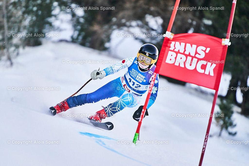 ALS5749_WWMG_GS-II_C | (C) FotoLois.com, Alois Spandl, WinterWorldMastersGames 2020 Innsbruck, Giant Slalom-II Gruppe C Damen, Patscherkofel Olympiaabfahrt, Mi 15. Jänner 2020.