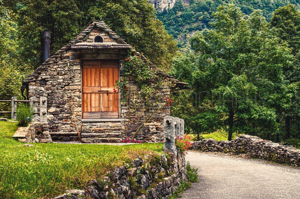 Stein Hütte | Aufgenommen 2014 im Wallis
