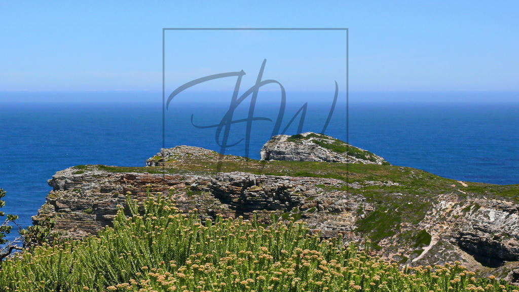Blick auf das Kap der Guten Hoffnung | Im Cape Peninsula Nationalpark südlich von Kapstadt.