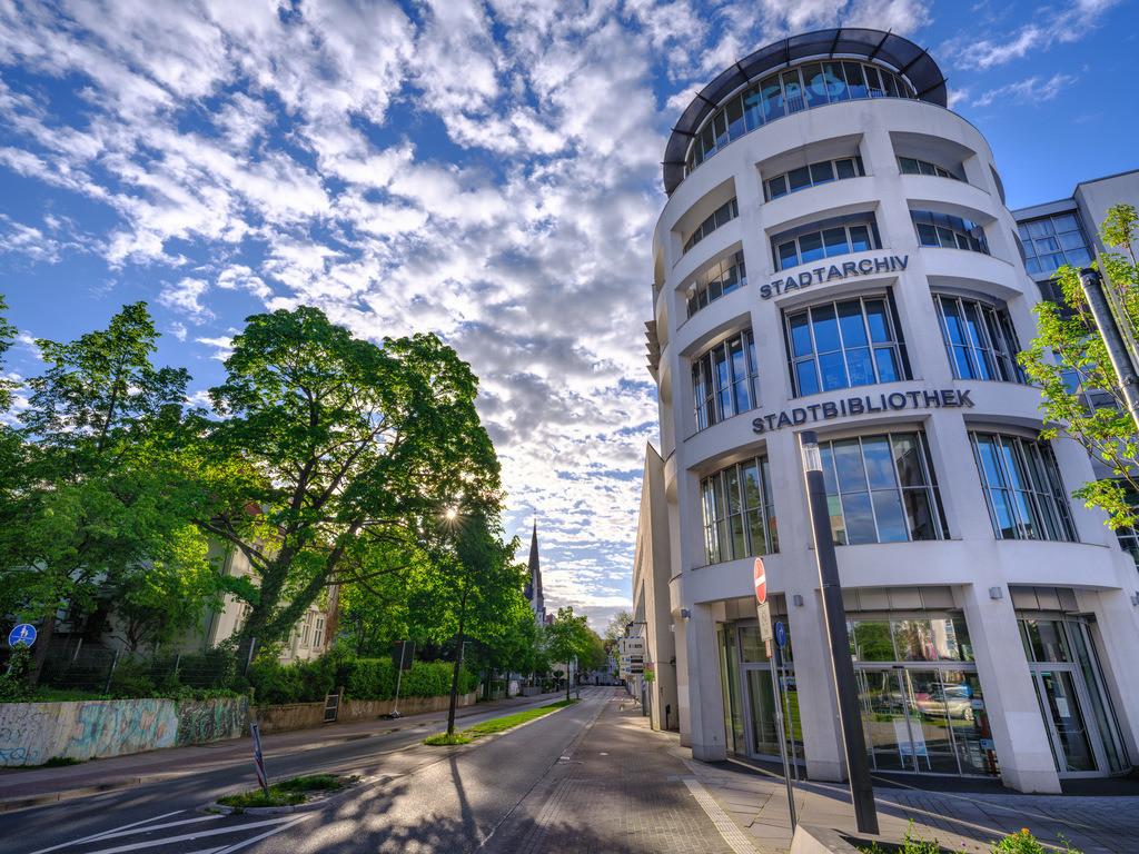 Stadtbibliothek und Stadtarchiv | Stadtbibliothek und Stadtarchiv in Bielefeld.