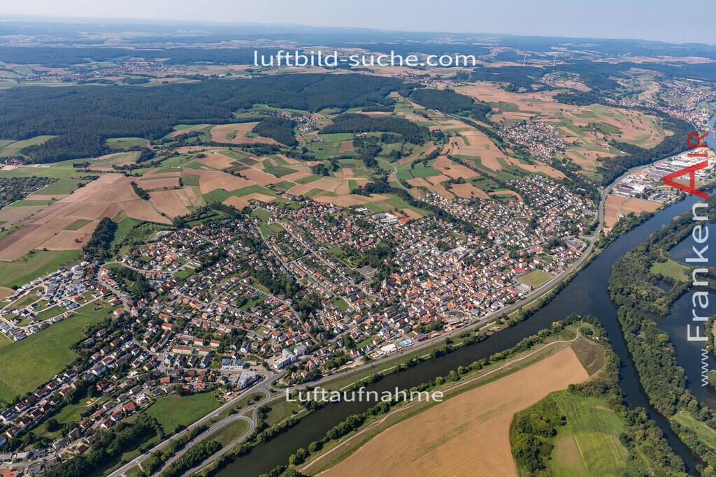 bischberg-19-300 | aktuelles Luftbild von  Bischberg - Luftaufnahme wurde 2019 von https://frankenair.de mittels Flugzeug (keine Drohne) erstellt.