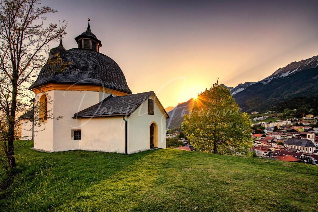 Kalvarienberg | Sonnenuntergang in Arzl