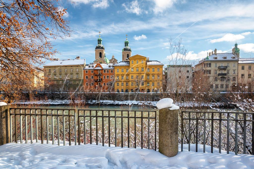Innsbruck | Winterliches Innsbruck mit Blick zur Altstadt