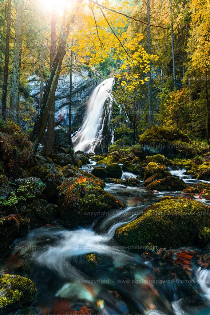 Gollinger Wasserfall im Herbst-2