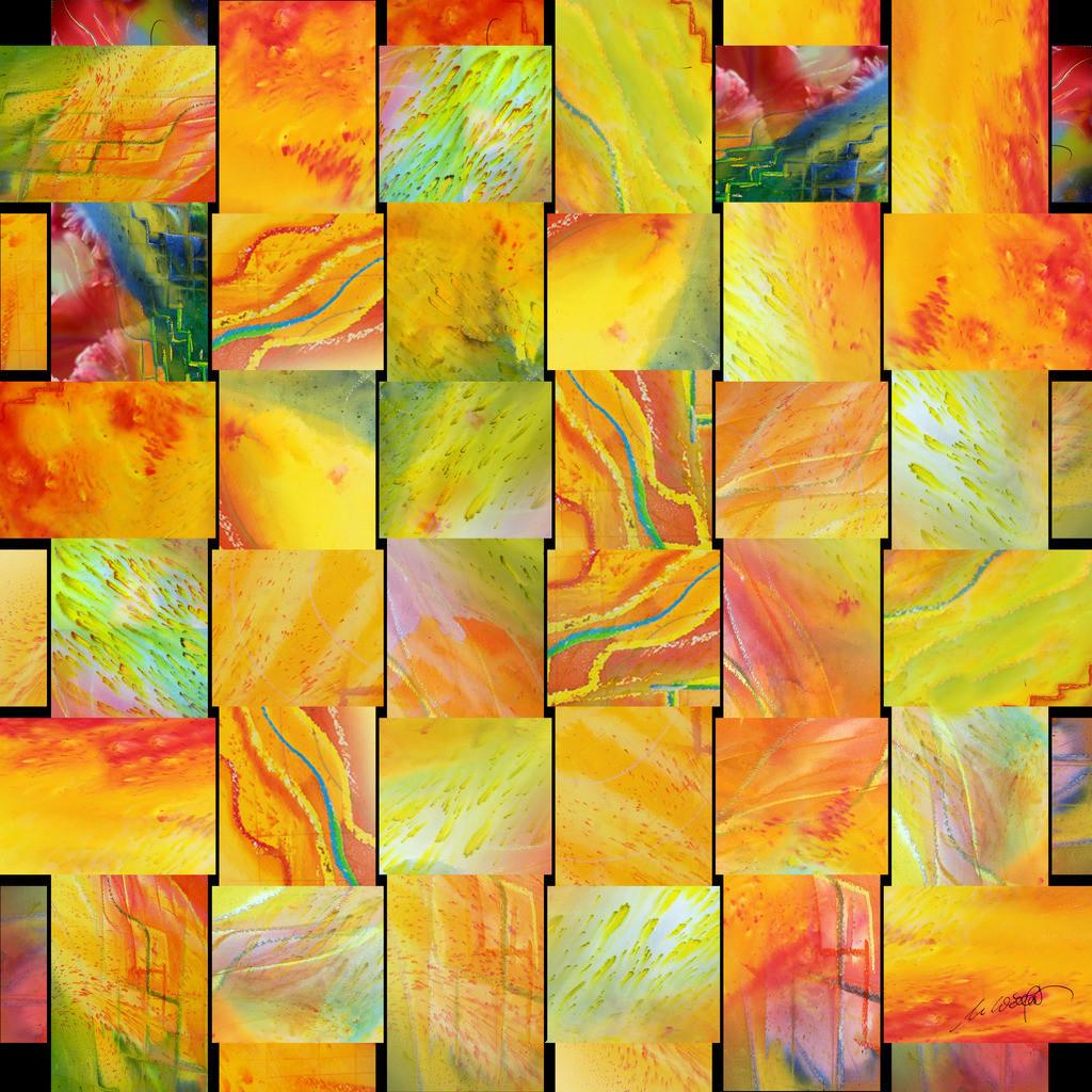 Alle Farben des Lebens V02 | DAS LEBEN UND SEINE FARBEN:  Beobachtet man das Leben, ist es ein Geflecht aus Mensch und Zeit. Wie Großartiges in Niedrigem, durchschneidet Vertikales unseren Horizont. Nur die Zeit und die Andacht lassen das Muster erahnen. Erst nach der letzten Stunde hat man alle Farben gesehen. die das Leben und der Mensch gemalt haben.