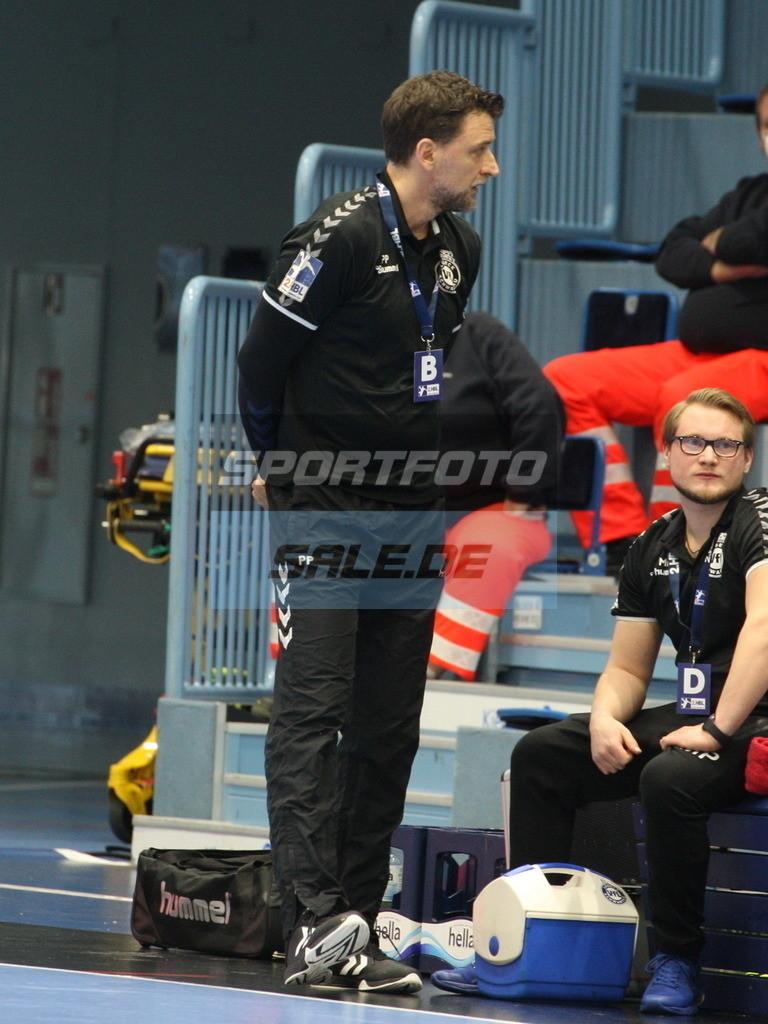 VFL Gummersbach - VFL Lübeck Schwartau | Schwartaus Trainer Piotr Przybecki - © by Sportfoto-Sale.de