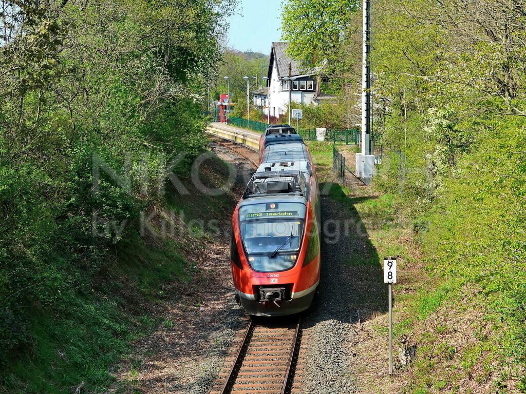 Regionalbahn | Regionalbahn am Bahnhof Iserlohn-Hennen