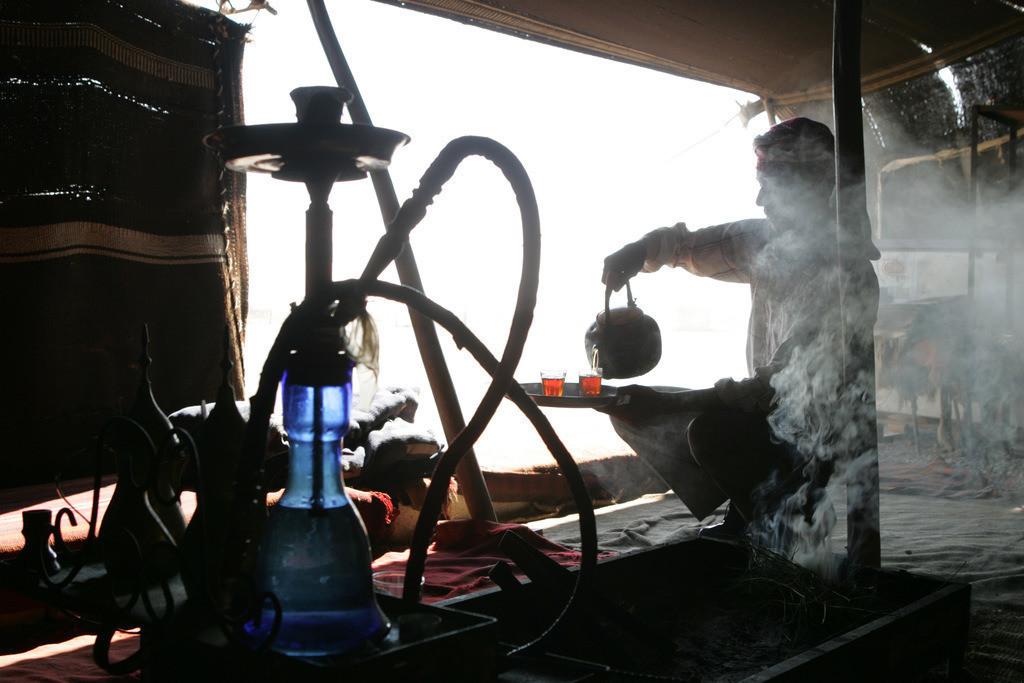 Jordanien | Jordanien, Teezubereitung,