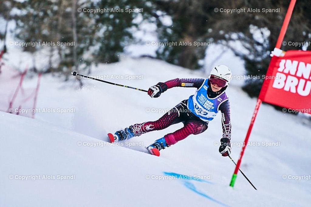 ALS5593_WWMG_GS-II_C | (C) FotoLois.com, Alois Spandl, WinterWorldMastersGames 2020 Innsbruck, Giant Slalom-II Gruppe C Damen, Patscherkofel Olympiaabfahrt, Mi 15. Jänner 2020.