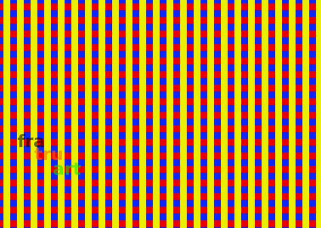 Rot Gelb Blaue Quadrate | Grafik