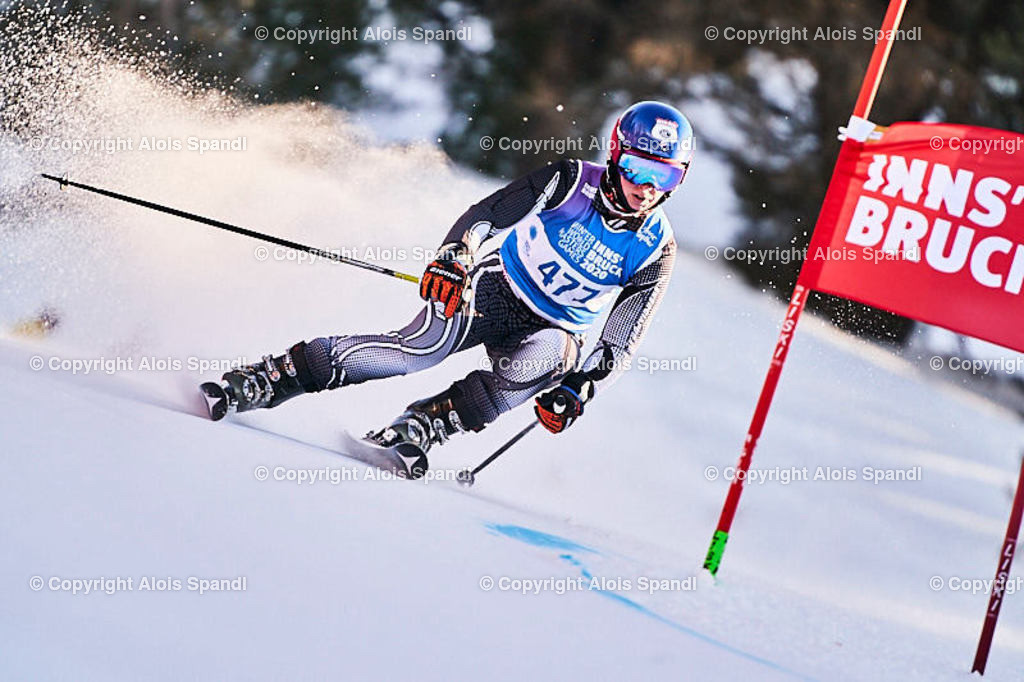 ALS6073_WWMG_GS-II_C | (C) FotoLois.com, Alois Spandl, WinterWorldMastersGames 2020 Innsbruck, Giant Slalom-II Gruppe C Damen, Patscherkofel Olympiaabfahrt, Mi 15. Jänner 2020.