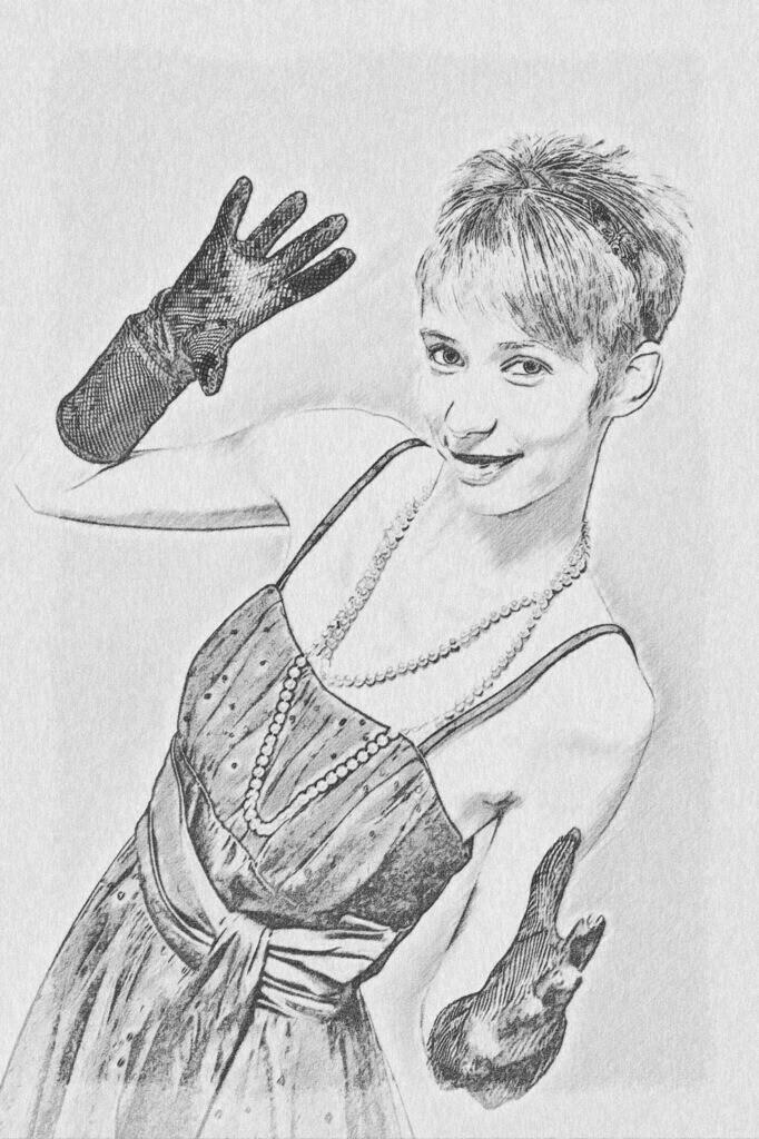 Handschuh Lady Bild 029