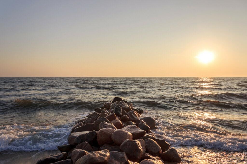 Strand in Damp | Sonnenaufgang in Damp