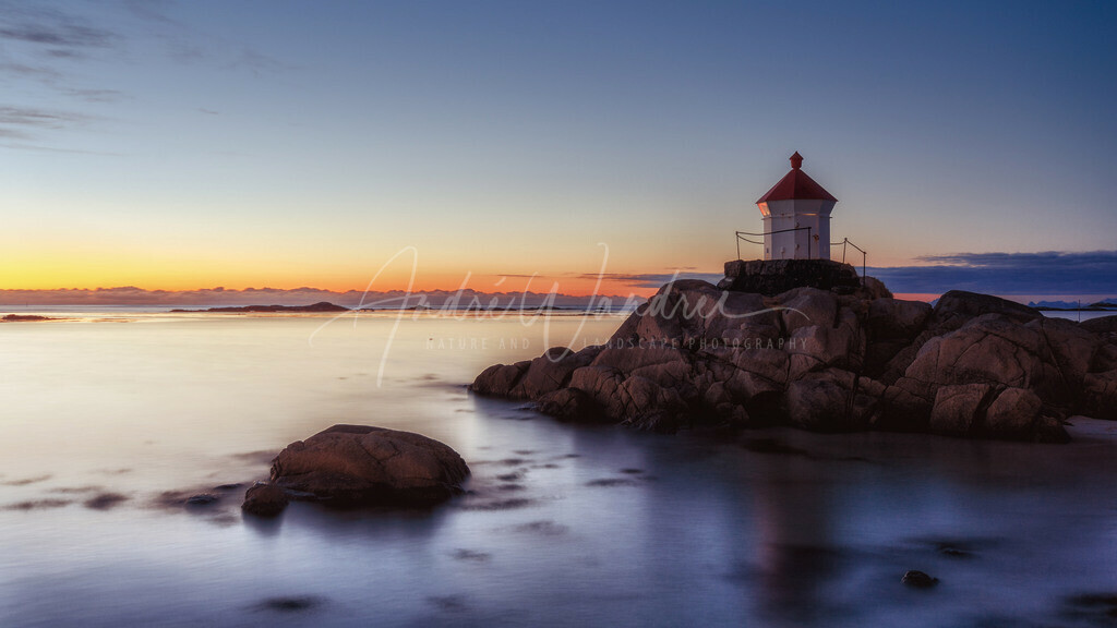 Der einsame Leuchtturm