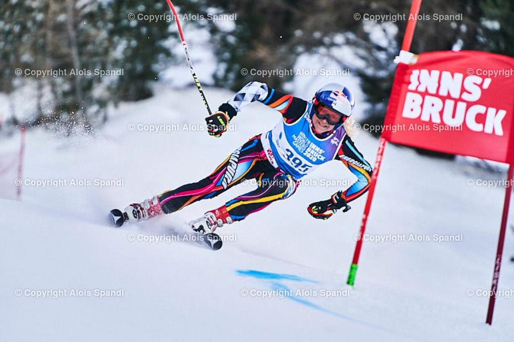 ALS5651_WWMG_GS-II_C | (C) FotoLois.com, Alois Spandl, WinterWorldMastersGames 2020 Innsbruck, Giant Slalom-II Gruppe C Damen, Patscherkofel Olympiaabfahrt, Mi 15. Jänner 2020.