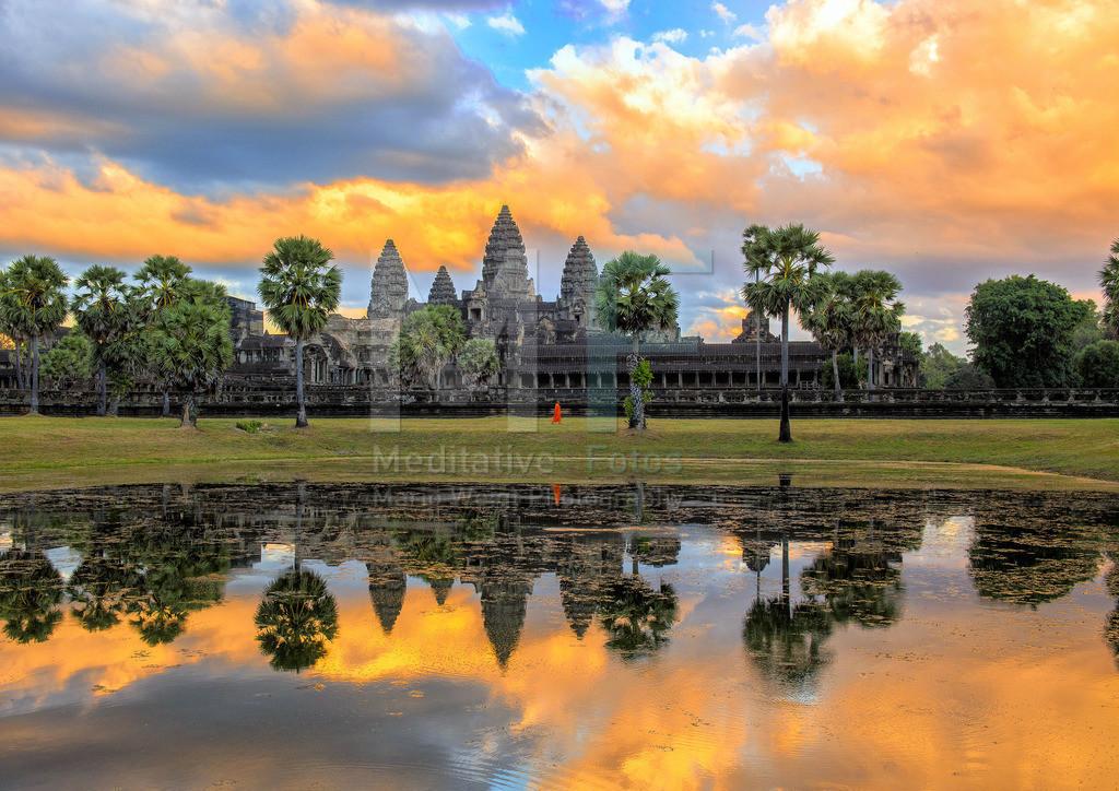 Kambodscha | Moech im Angkor Wat