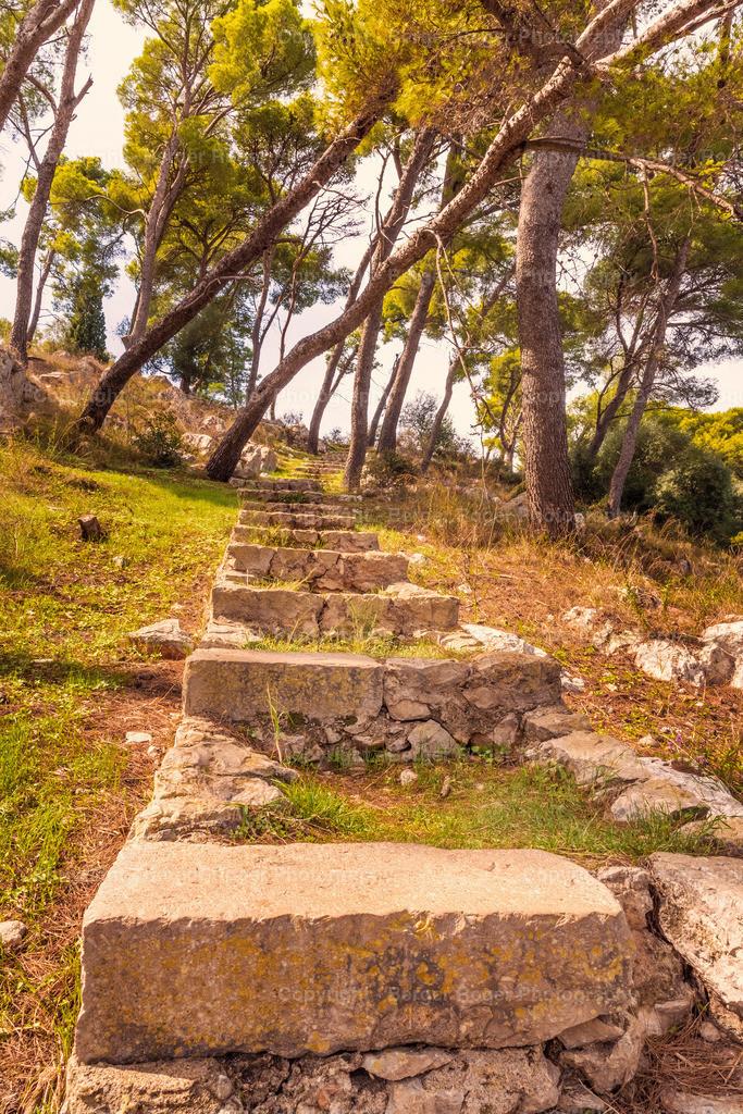 Treppe in Pylos | Pylos, Griechenland