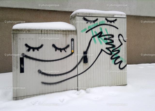 Graffiti Umarmung
