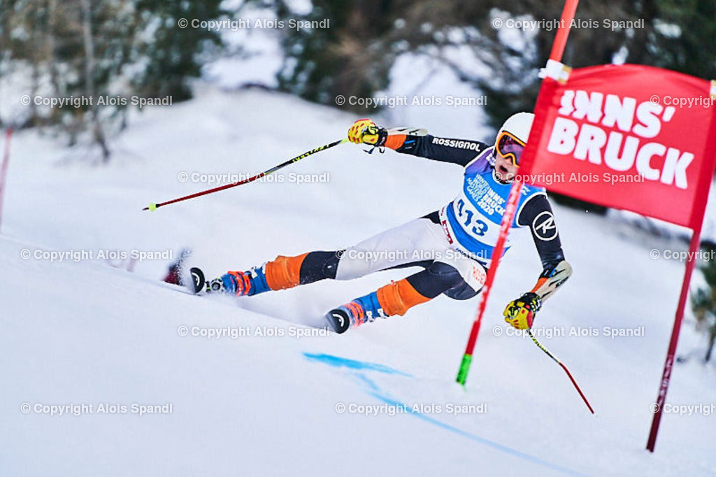 ALS5757_WWMG_GS-II_C | (C) FotoLois.com, Alois Spandl, WinterWorldMastersGames 2020 Innsbruck, Giant Slalom-II Gruppe C Damen, Patscherkofel Olympiaabfahrt, Mi 15. Jänner 2020.