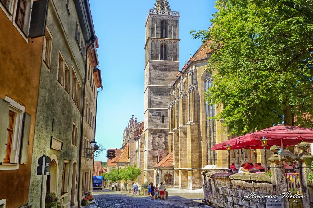 Rothenburg ob der Tauber No.90 | Rothenburg ob der Tauber - Hochwertige Bilder von Alexander Möller. Verschiedene Formate und Fotoprodukte im AlexanderMöller.de Bildershop