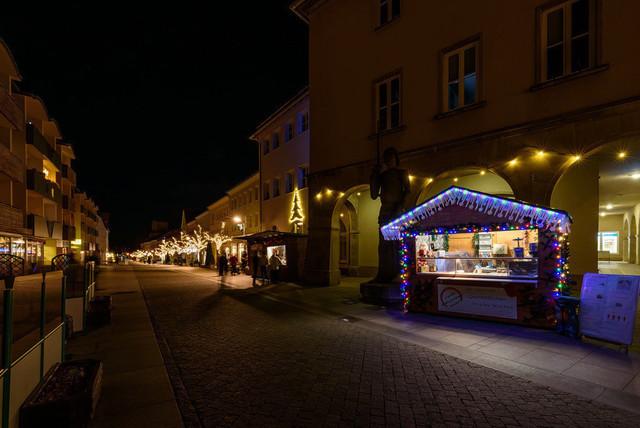 Weihnachtsmarkt 2020   Ansicht aus Prenzlau