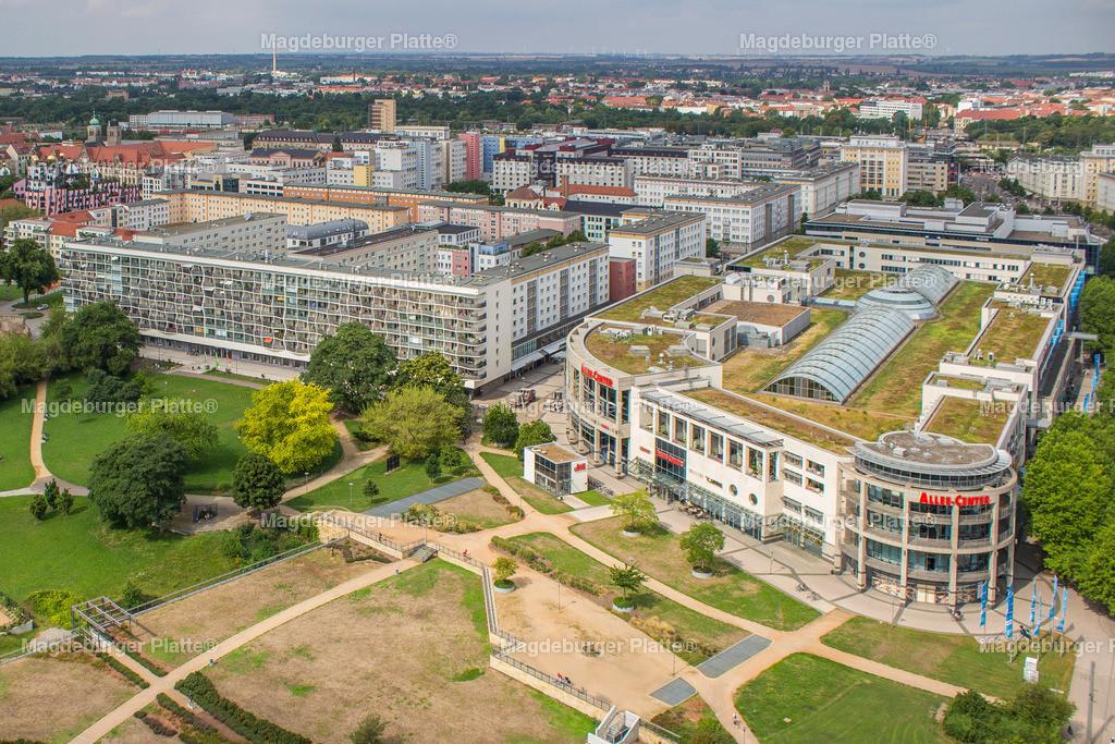 Luftbild Magdeburg Johanniskirche Panorama-5045 | Luftbilder aus der Vogelperspektive von MAGDEBURG ... mit Drohne oder von oben fotografiert für die Bilddatenbank der Luftbildfotografie von Sachsen - Anhalt.