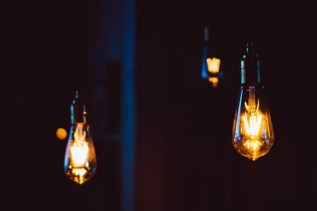 Mensch, Klima! | Glühbirne, LED-Lampe, vintage, retro, Beleuchtung