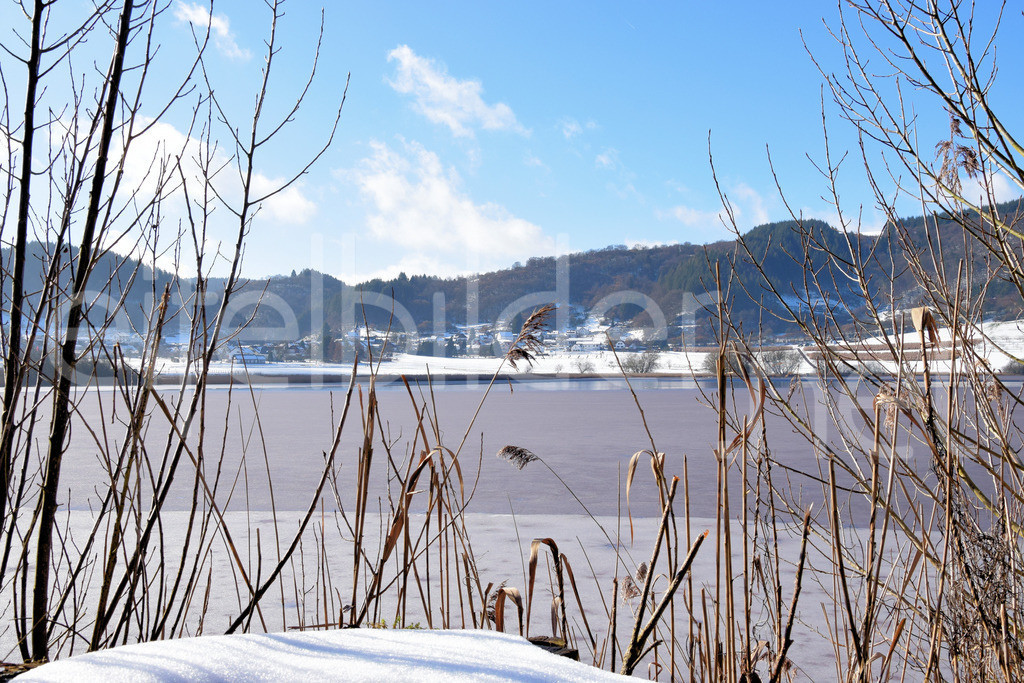 Winter am Meerfelder Maar (Vulkaneifel) | Winter am Meerfelder Maar in der Eifel