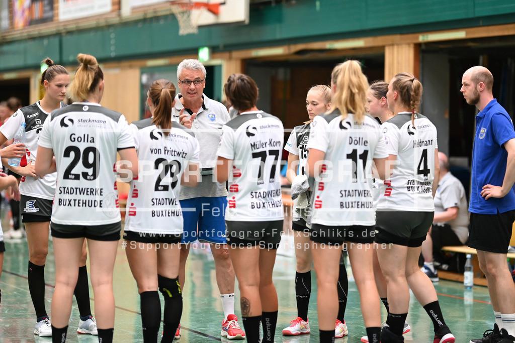 FZ6_0521 | ; Handball I Testspiel I Buxtehuder SV - TSV Bayer 04 Leverkusen am 01.08.2020 in Buxtehude  (Halle Nord), Deutschland