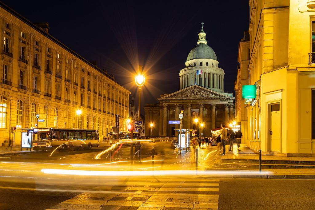 Blick auf das Pantheon in Paris, Frankreich | Blick auf das Pantheon in Paris, Frankreich.