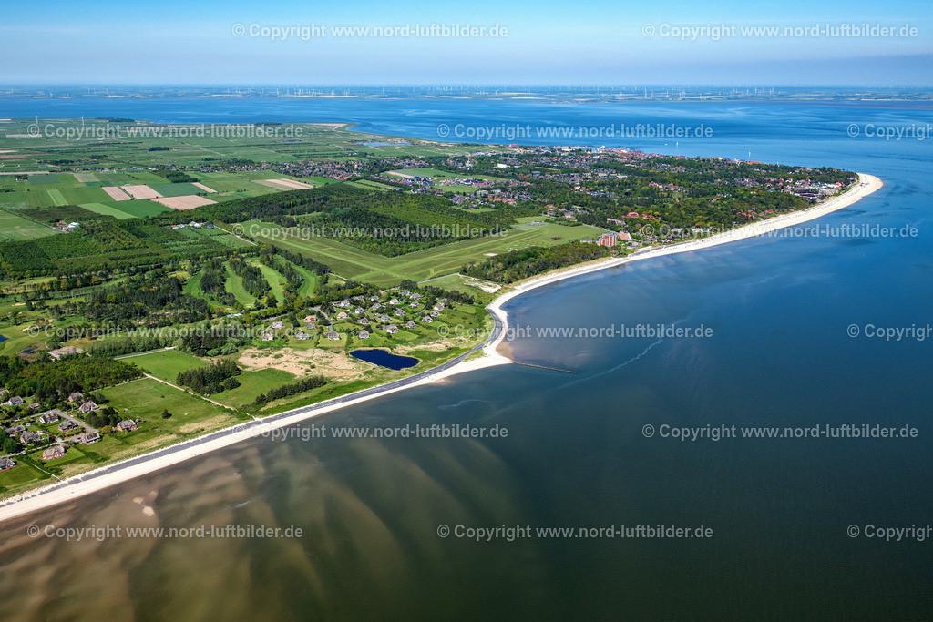 Föhr_Greveling_ELS_3834310521 | NIEBLUM 31.05.2021 Sandstrand- Landschaft an der Nordsee in Greveling im Bundesland Schleswig-Holstein. // Beach landscape on the North Sea in Greveling in the state Schleswig-Holstein. Foto: Martin Elsen